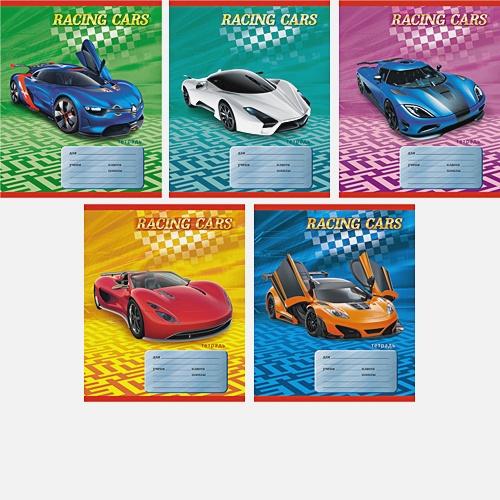 Скоростные машины (Racing cars) (клетка), 5 видов