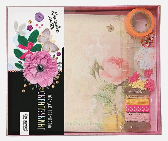 Скрапбукинг Альбом. Цветы