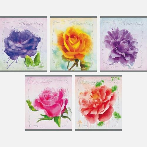 Чудесные цветы 48л., 5 видов
