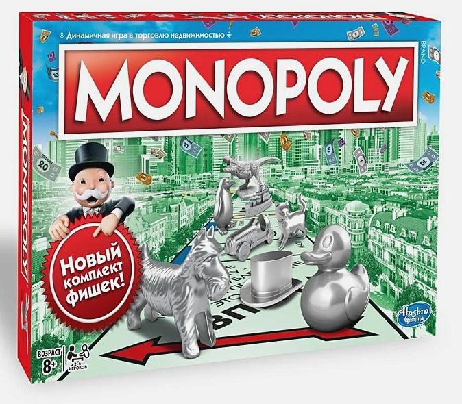 MONOPOLY - Настольная игра «Классическая Монополия» обложка книги