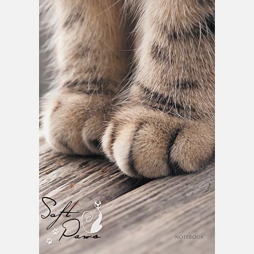Домашние любимцы. Кошачьи лапки (А6, 64 л.)