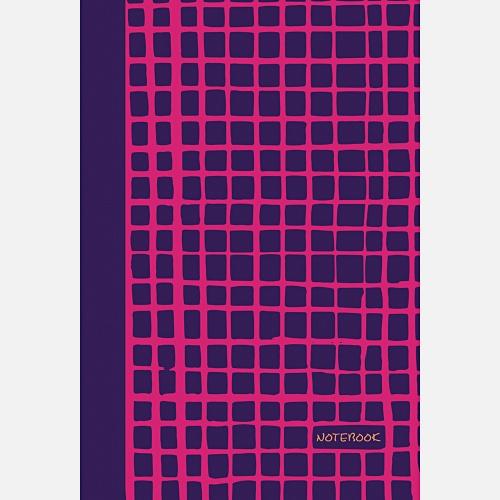 Яркие штрихи (фуксия) (167х246), 96 л. (без линовки)