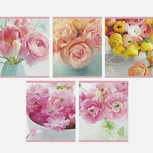 Цветочное очарование 48л., 5 видов