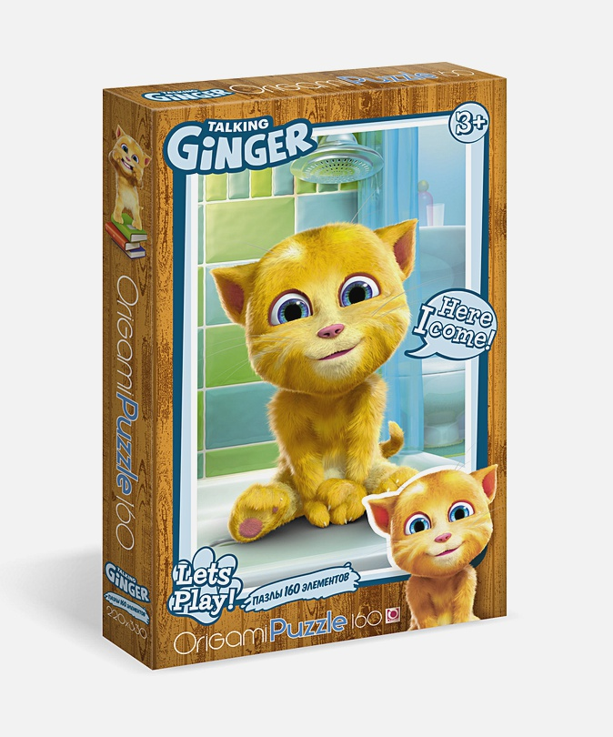 Пазл 160 эл. Talking Tom and Friends