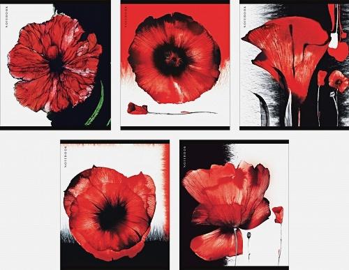Алые цветы 48л., 5 видов
