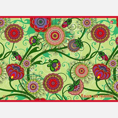 Цветочное плетение (орнамент)
