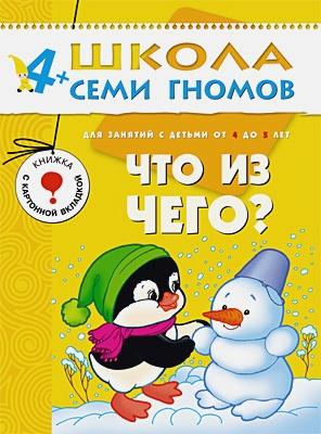Дарья Денисова - ШСГ Пятый год обучения. Что из чего? обложка книги