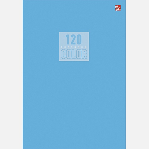 Стиль и цвет. Голубой 120л.