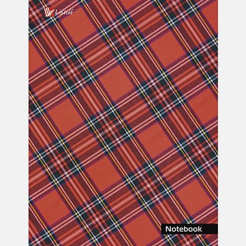 Орнамент. Шотландская клетка (красная)