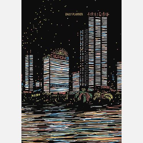 Графика. Городские огни (А5, 152л.)