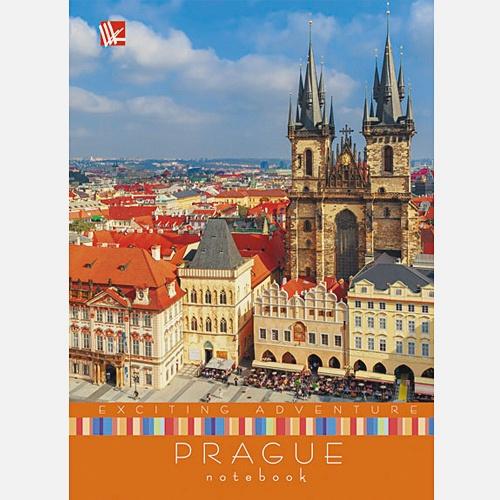 Вокруг света. Яркая Прага А6 64 л.