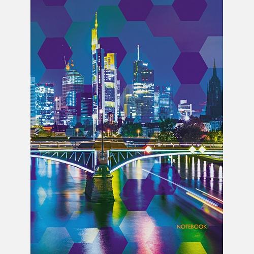 Городской стиль. Ночной мегаполис (А6, 80 л. пленка)