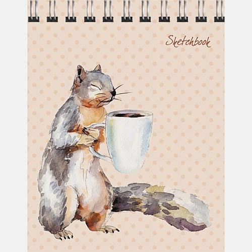 Белка и кофе