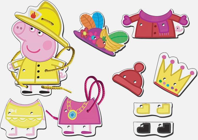 "Peppa Pig - Игр.наб ""Шнуровка Пеппа"" дерево, тм Peppa Pig обложка книги"