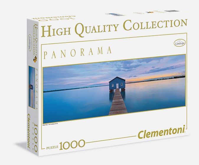 Пазл панорамный 1000 эл. Дзэн. Синее спокойствие