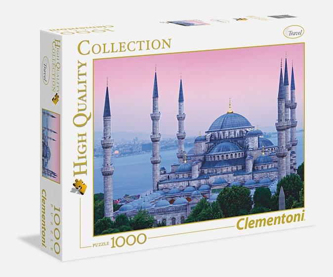 CLem.Пазл. 1000эл. Классика.39291 Стамбул, Мечеть Ахмедие (n)