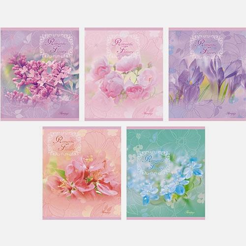 Летние цветы 48л., 5 видов (линия)