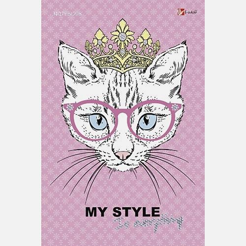 Мода и стиль. Кошка в короне