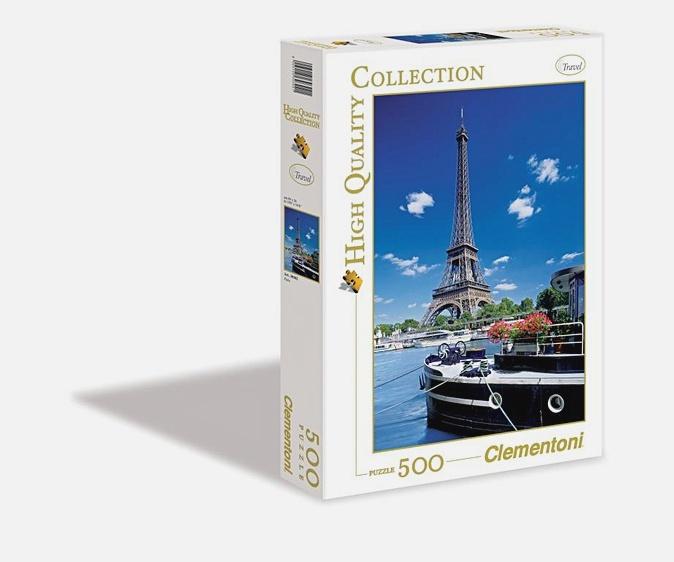 Пазл 500 эл. Париж. Вид на Эйфелеву башню