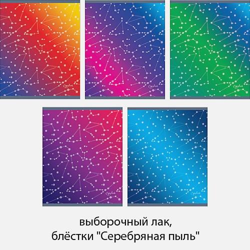 Звездная пыль 48л., 5 видов