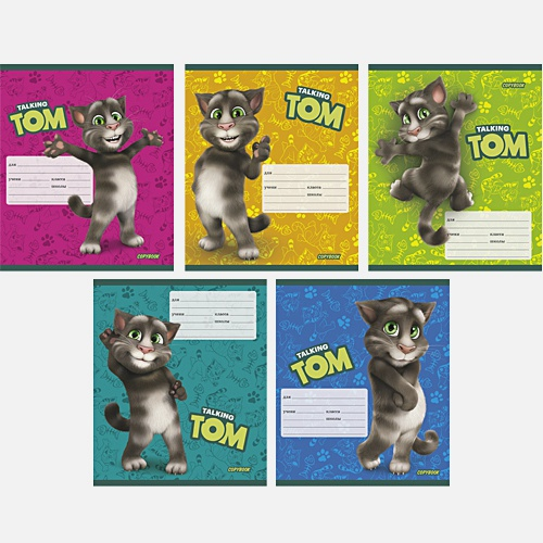 """Talking Tom and Friends"". Кот Том, 5 видов"