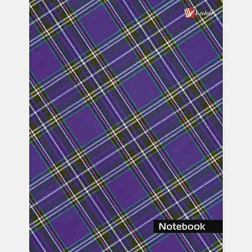 Орнамент. Шотландская клетка (фиолетовая)