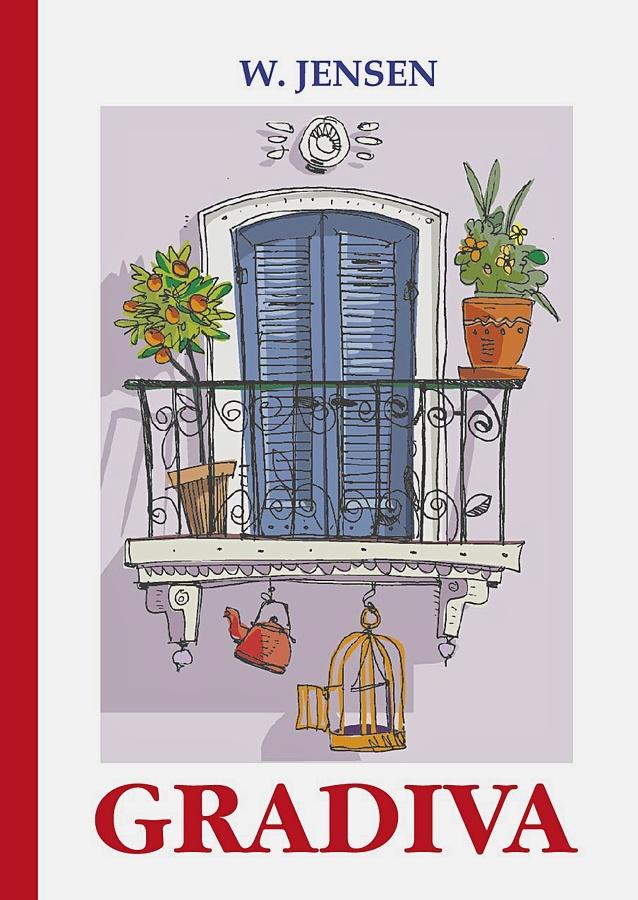 Jensen W. - Gradiva = Градива: повесть на англ.яз обложка книги