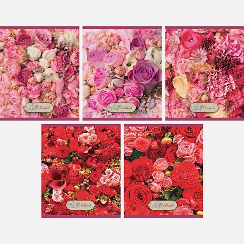 Цветочное великолепие 96л.,5 видов