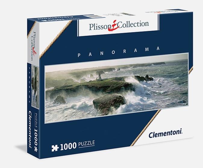 Пазл панорамный 1000 эл. Бретань. Остров Бель-Иль