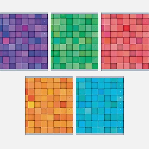 Цветовые сочетания (хромэрзац) 96л., 5 видов