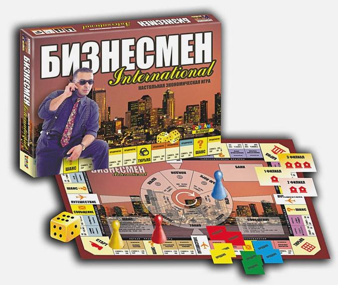 Наст.игр.:ТГ.игра экономическая. Бизнесмен арт.01016