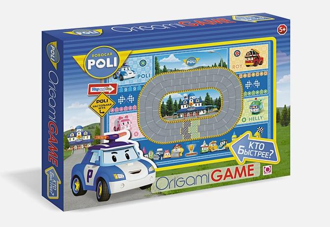 Настольная игра «Робокар Поли. Кто быстрее?»