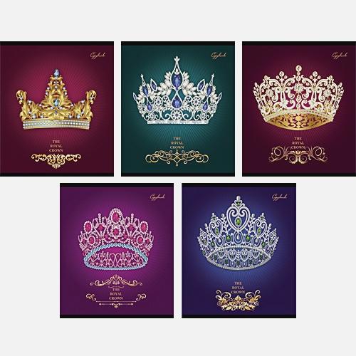 Королевский стиль 48л., 5 видов