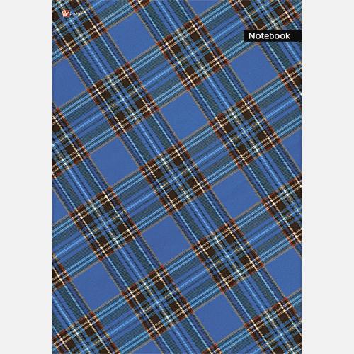 Орнамент. Шотландская клетка (синяя)