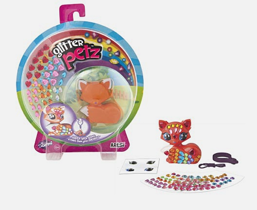 Мозаика-фигурка животного.  Glitter Pets  в асс-те арт. 00427
