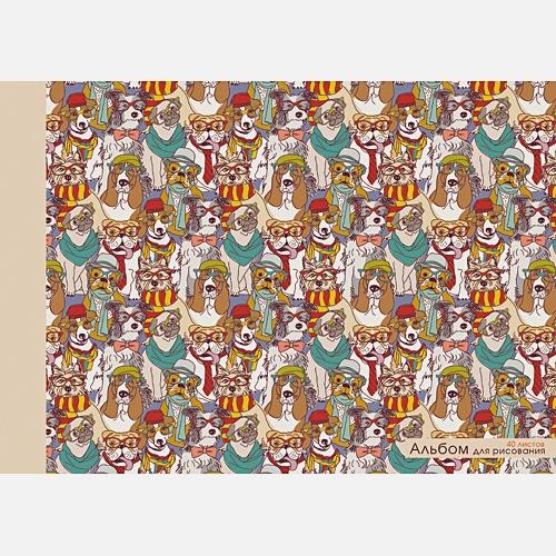 Стильные собаки (склейка, 40л.)