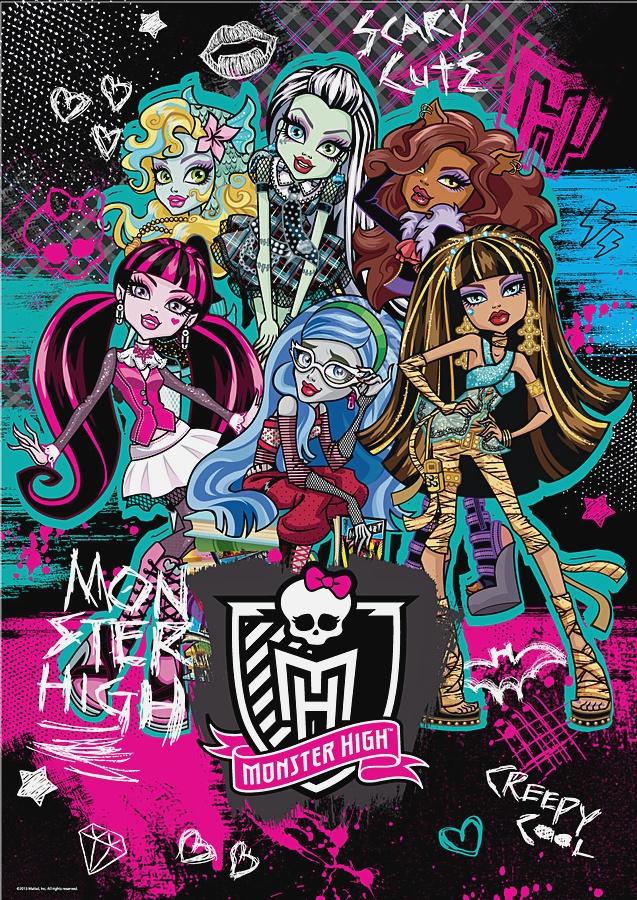 Пазл 260 эл. Monster High