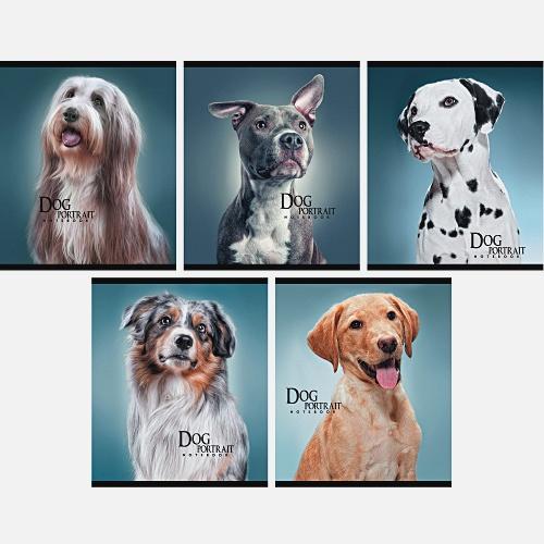 Собаки (портрет) 96л.,5 видов