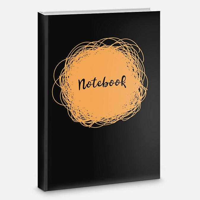 Книга для записей «Яркие каракули», А5, 80 листов