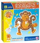 Мозаика-набор для малышей. Зоопарк (4 шт. ) арт. 00422