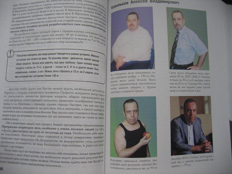 Метод Коваленко Похудение. Методика похудения доктора Ковалькова поэтапно с меню