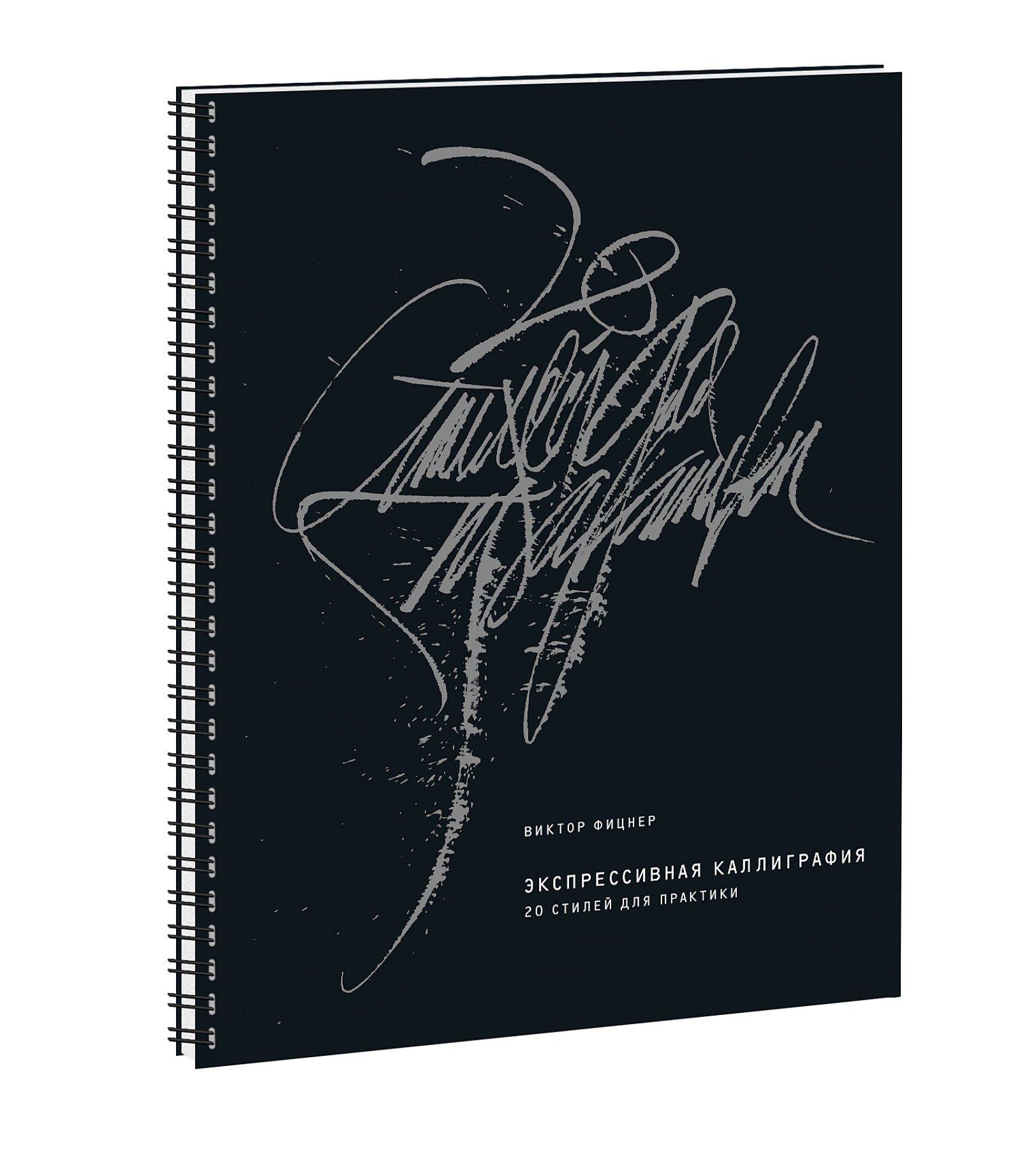 Экспрессивная каллиграфия. 20 стилей для практики ( Виктор Фицнер  )