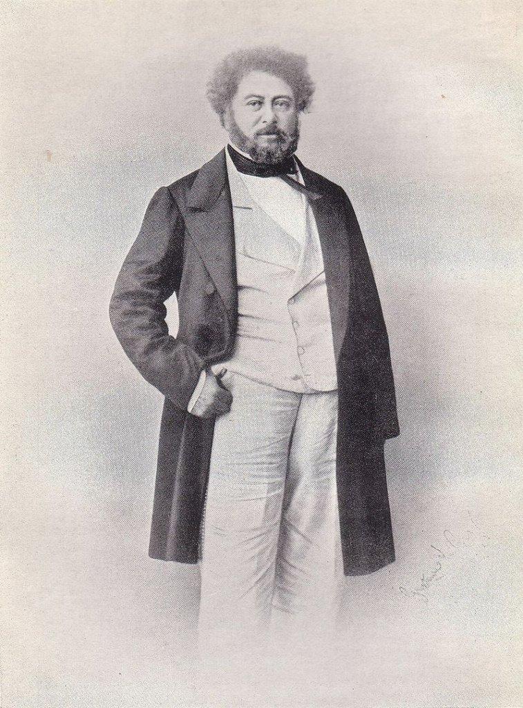 Дюма в 1860-х
